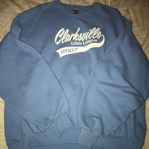 Sweaters - Light Blue Vintage Crewneck